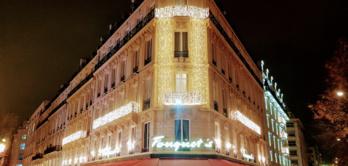 Décoration Noël Fouquet's depuis 2009