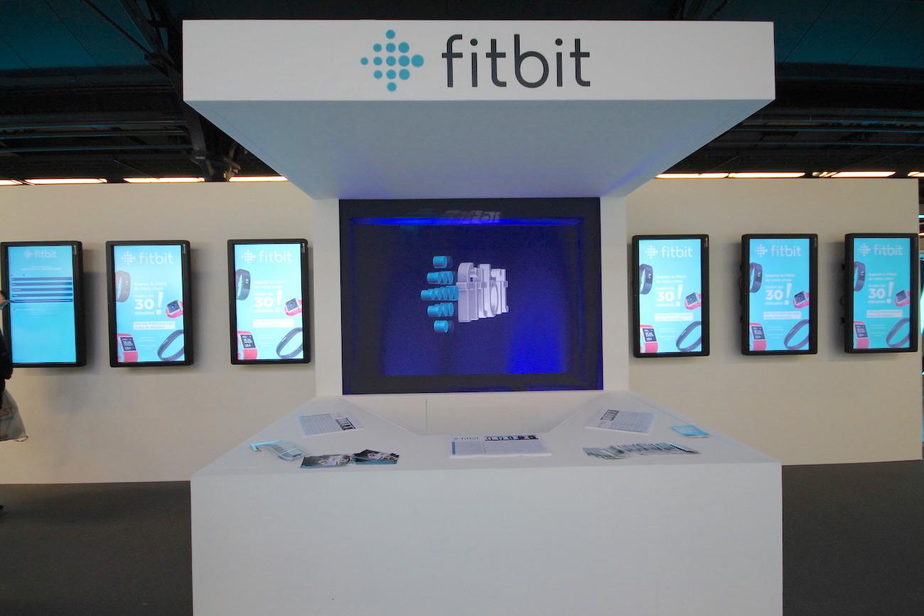 Un événement expérientiel sur l'espace Fitbit au Semi Marathon de Paris !
