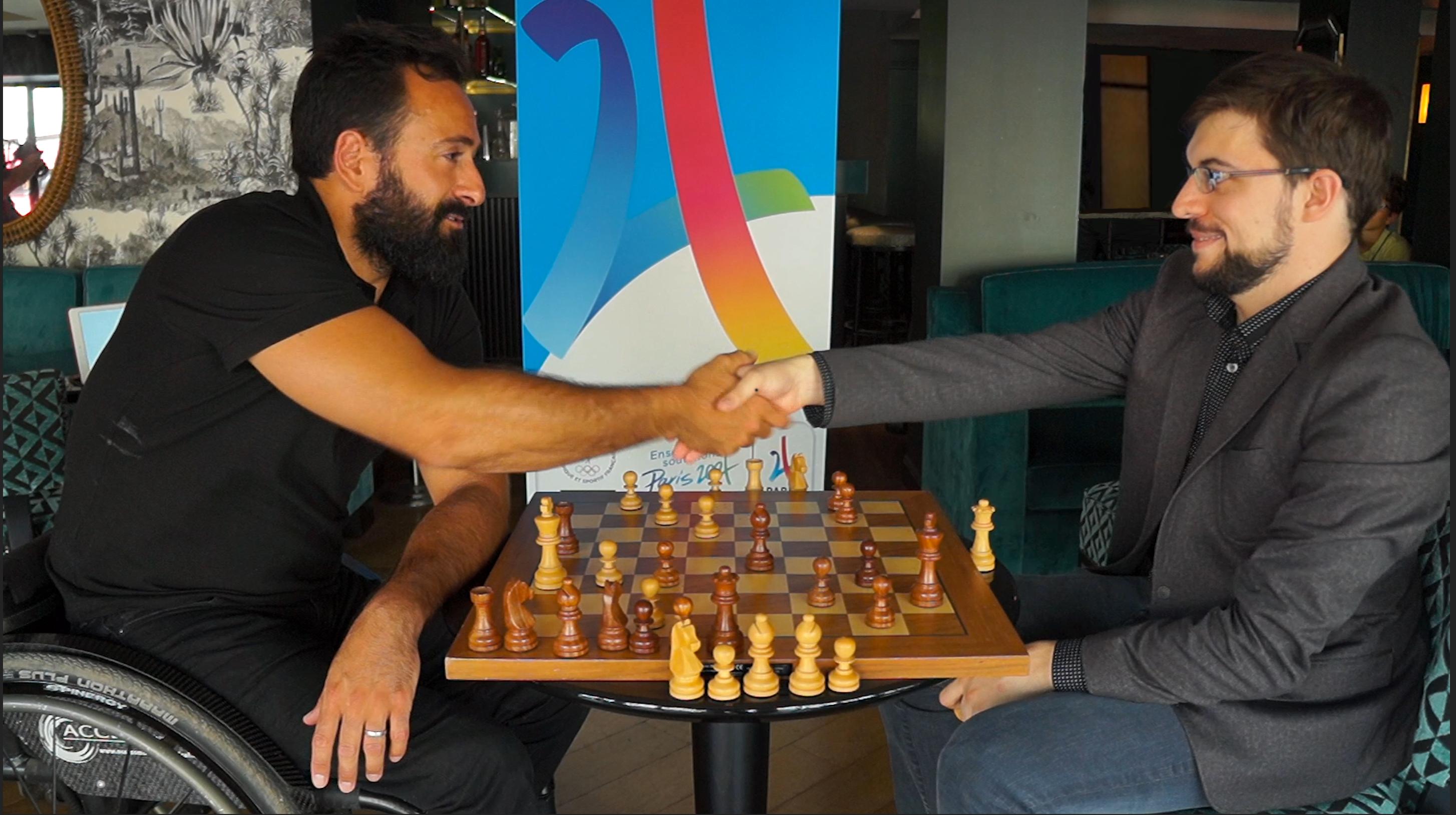 Deux champions pour saluer l'attribution des Jeux Olympiques Paris 2024