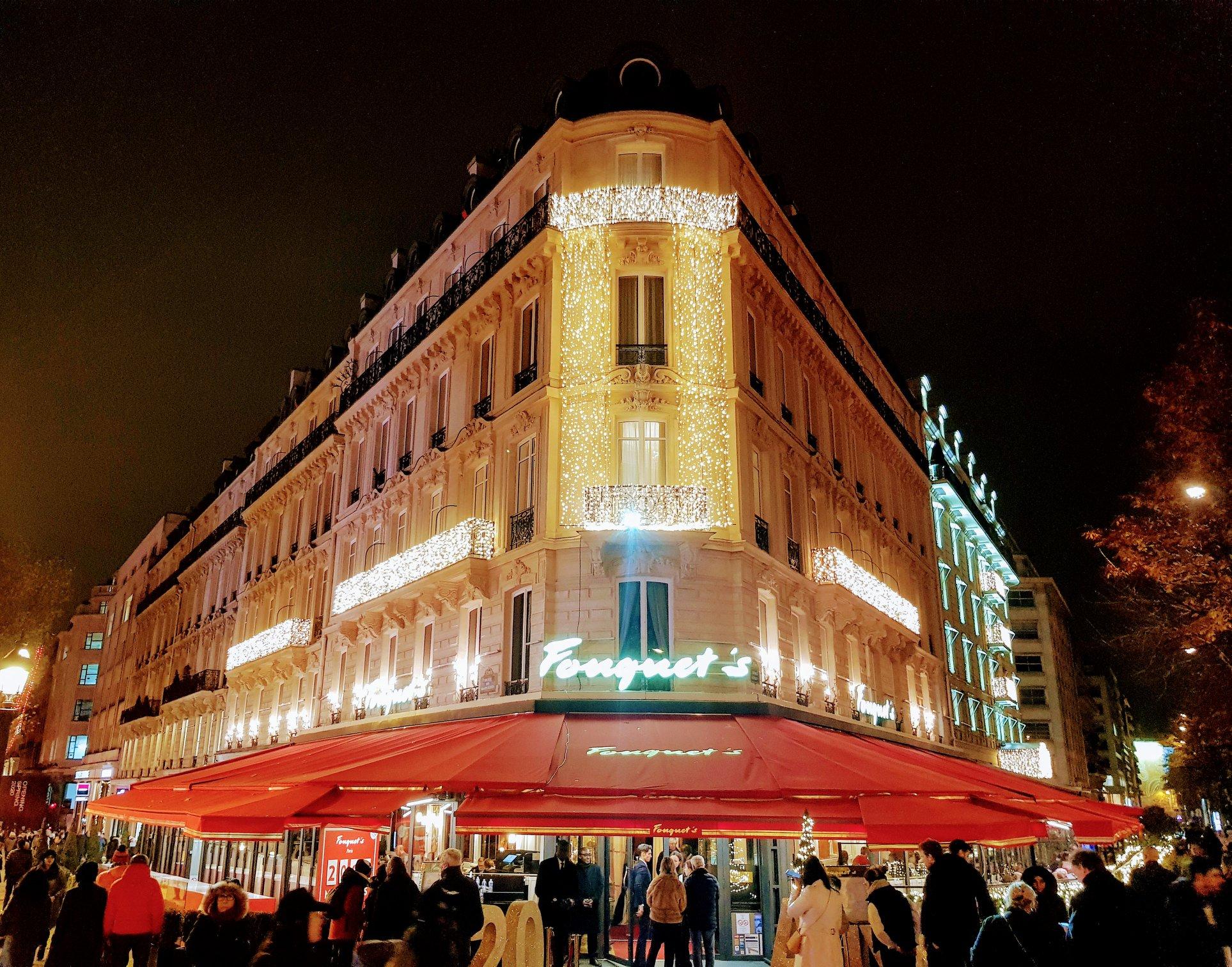 Noël 2019 à l'Hôtel Fouquet's Barrière des Champs Elysées