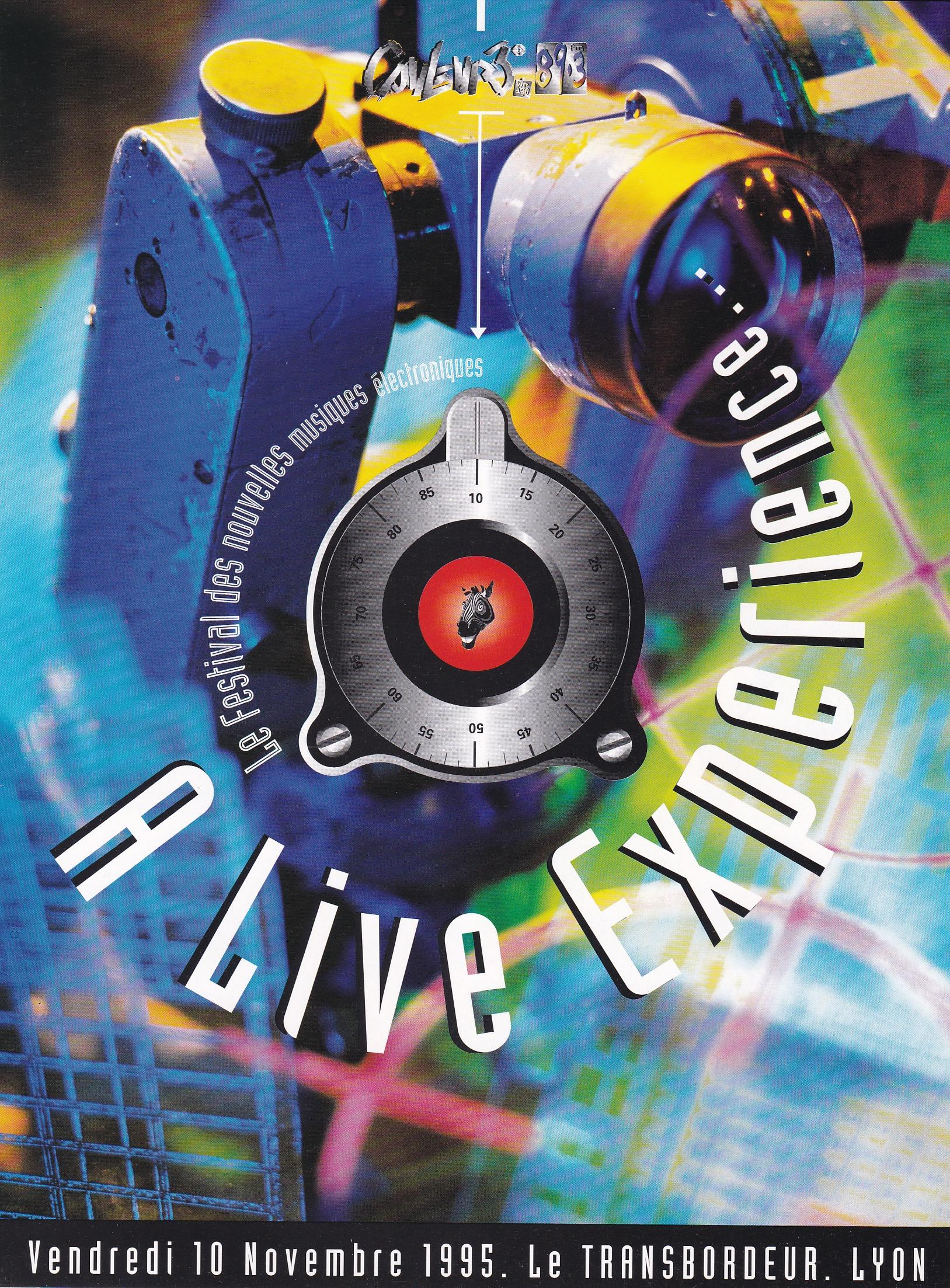 Live Experience au Transbordeur Lyon 10/11/95
