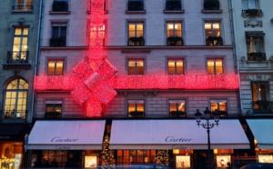 Décoration Noël 2019 Chez CARTIER au 13, Rue de de la Paix